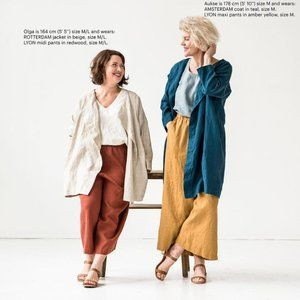 Culottes in Canyon Clay - S/M - Not Perfect Linen